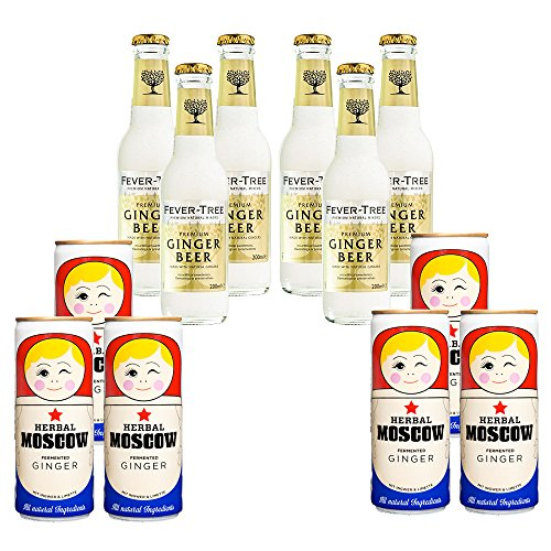 Ginger Paket: Fever-Tree + Herbal Moscow
