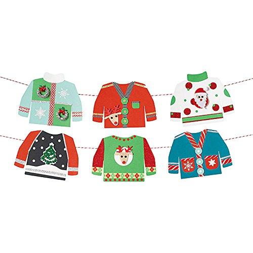 Verrückte Weihnachts-Pullover Bastel-Set - DIY