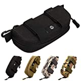 CamGo Tactical Sunglasses Hard Case Portable Molle Zipper Nylon Eyeglasses Carrying Case