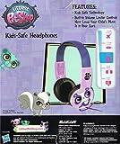 Pink Littlest Pet Shop Kids Headphones, Padded Kids Safe Hearing Device w/ Volume Controler