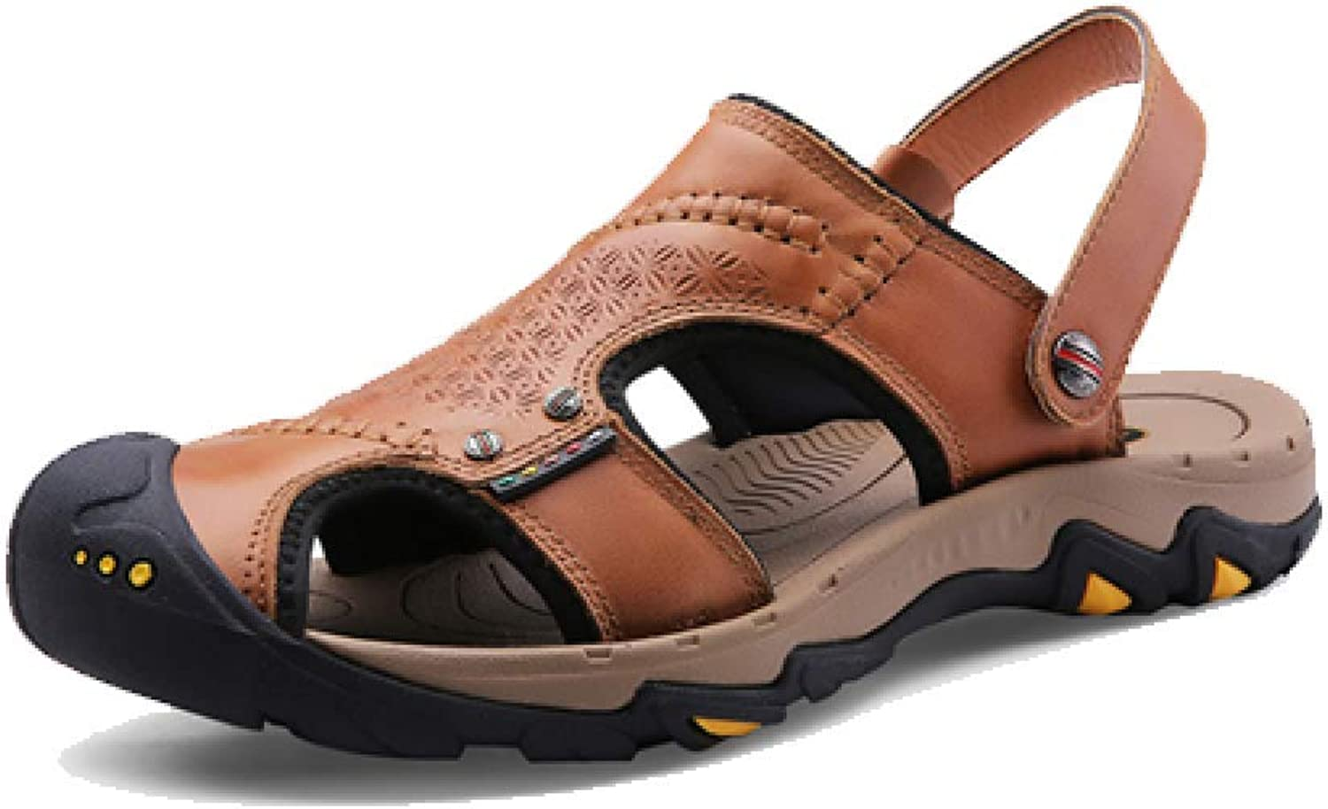 AEYMF Outdoor Baotou Beach shoes Hiking shoes Hiking Men's Sandals