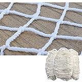 T5S6 Enfants Net badmitton Net Echafaudage Net Netting Lumières Accessoires for Party de Vacances Décoration 5cm Mesh Blanc (Size : 5 * 5M)