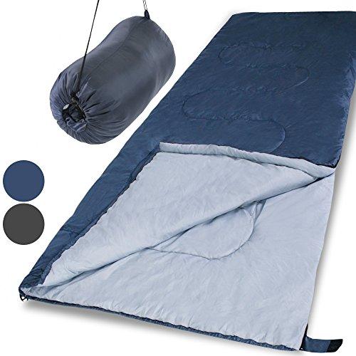 Jago SFS02-Grey rectangular obtundir saco de dormir gris