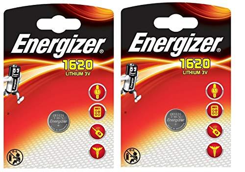 2 Knopfzellenbatterien von ENERGIZER für den Wechsel am Funkschlüssel beim Opel Crossland (X