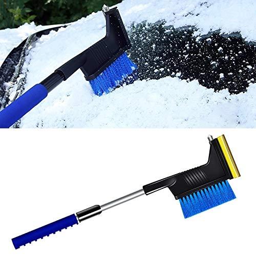 洗車ツール アルミ合金スノーブラシアイスシャベルカー除雪ショベルXML