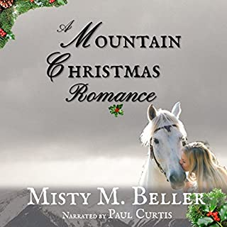 A Mountain Christmas Romance audiobook cover art