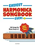 Easiest Harmonica Songbook Ever!: 100% note-free! 100 Songs for Blues Harp in C. (English Edition)