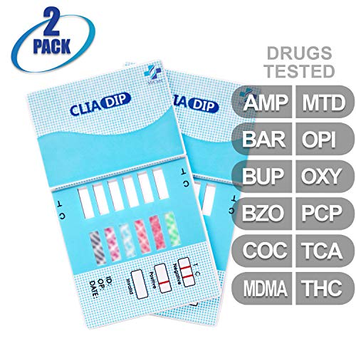 Review Of MiCare [2pk] - 12-Panel Urine Drug Test Card (AMP/BAR/BUP/BZO/COC/MDMA/MTD/OPI/OXY/PCP/TCA...