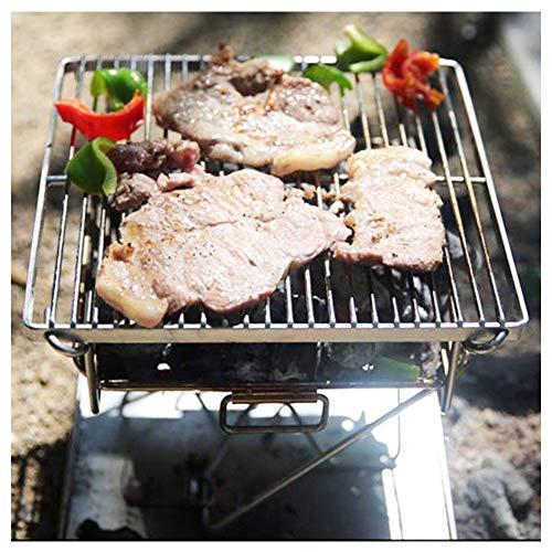 51hvyoXRADL. SL500  - Wzz Tragbare Edelstahl BBQ Grill Klapp Grill Im Freien Grill Camping Picknick Grill Werkzeug Grill Zubehör