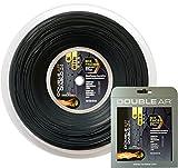 DOUBLE AR - Corda da Tennis Diablo 24, Monofilamento Co-Poliestere 1.24mm Nera. Set Singolo 12Mt