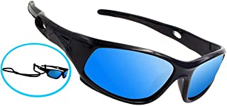COOLSOME Bendable Rubber Kids Polarized Sport Sunglasses...