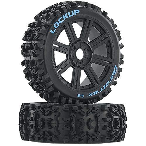 Duratrax Lockup 1/8 C2 Mounted Buggy Spoke Tires