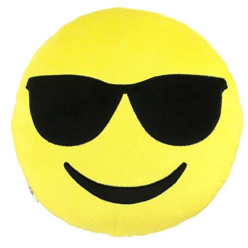 Emoji Expressions Plush Pillow - Co…