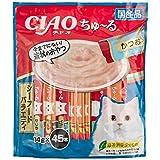 【Amazon.co.jp限定】 チャオ (CIAO) 猫用おやつ ちゅ~る シーフードバラエティ 14g×45本入