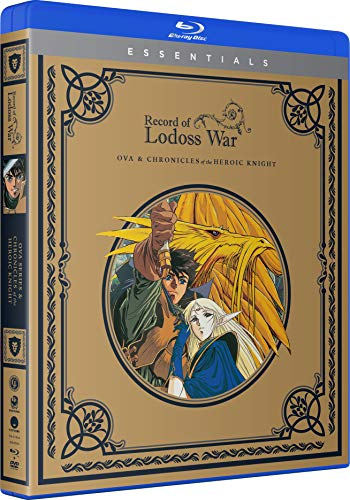 Record of Lodoss War: OVA & Chronicles of the Heroic Knight - The Complete Series - Blu-ray + DVD + Digital
