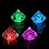 EgBert Multicolore Diamants LED Lumineux Glaçons Ice Cube De Noël Decor Fournitures...