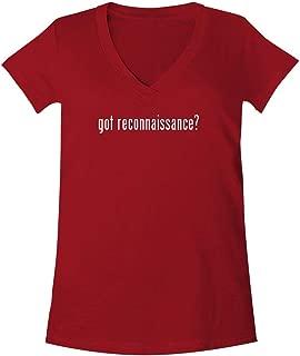 got Reconnaissance? - A Soft & Comfortable Women's V-Neck T-Shirt