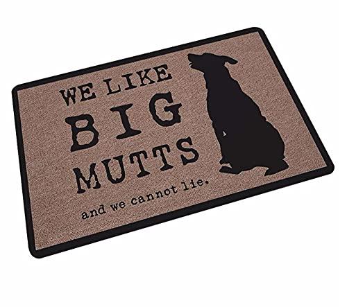 Alfombra antideslizante de la puerta del piso de la cocina del perro alfombra del piso de la cama del pie del cuarto de baño alfombra personalizada