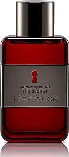 Sponsored Ad - Antonio Banderas Perfumes - Secret temptation - Eau de toilette Spray for Men - 1.6 Fl Oz