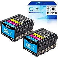 LxTek 29XL Reemplazo Compatible para Epson 29 XL Cartuchos de tinta para Epson Expression Home XP-235 XP-245 XP-247 XP-255 XP-342 XP-332 XP-335 XP-345 XP-355 XP-352 XP-432 XP-435 XP-442 XP-445