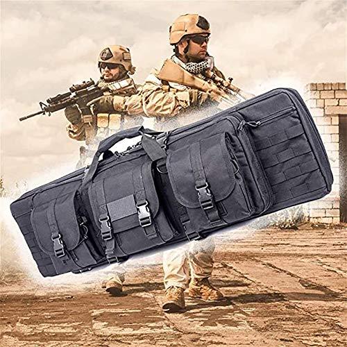 PLAYH Bolsa De Arma Acolchada Tactical Double Rifle Bag Maletines, con Shooting Bag Asas De Transporte Resistentes con Fácil Transporte para El Almacenamiento De Rifles Individuales (Size : 93cm)
