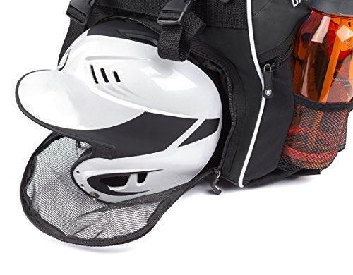 DashSport Baseball Bag Softball Backpack Bat Bag for Youth and Adults   Kids T-Ball Equipment and Softball Bag   Gear for Girls and Boys   Youth Bat Pack