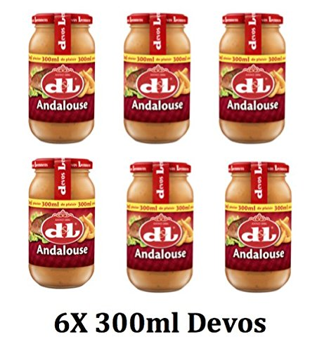 Andalouse Sosse 6x300ml Glas