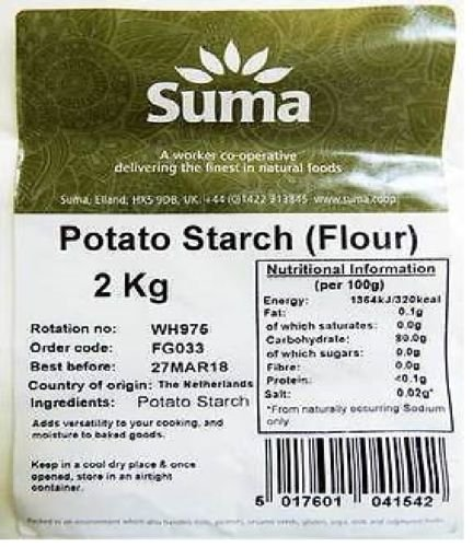 Suma Bagged Down | Potato Starch | 2kg
