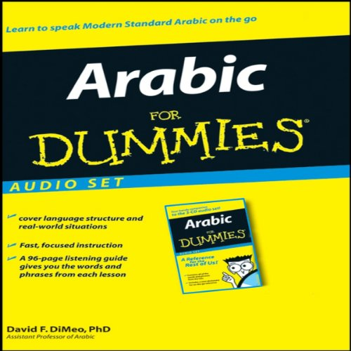 Arabic For Dummies audiobook cover art