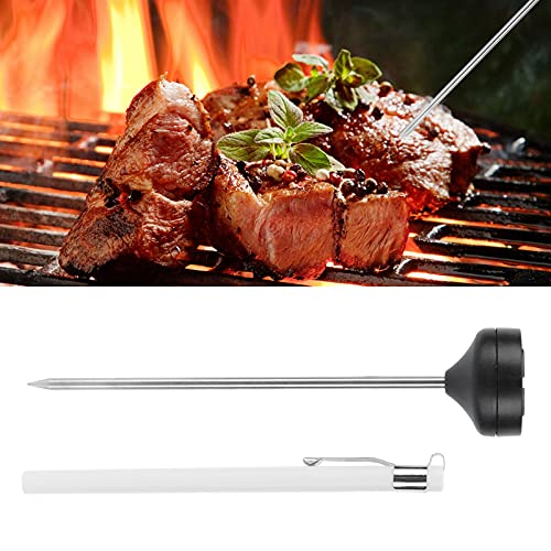 BOLORAMO Carne de Barbacoa, fácil de Leer, Que se Puede Colgar, Apagar automáticamente, Leche humeante, Leche para Acampar, para Chef, para Barbacoa