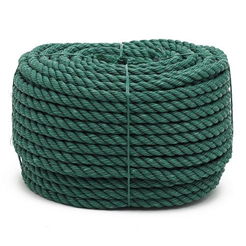 100m SEIL Polypropylen 5mm schwimmfähig Tauwerk Tau Kunststoffseil PP Seil ROT