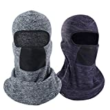 Balaclava Windproof Ski Mask Cold Weather Keep Warm Face Mask for Winter Motorcycling Ice Fishing Men