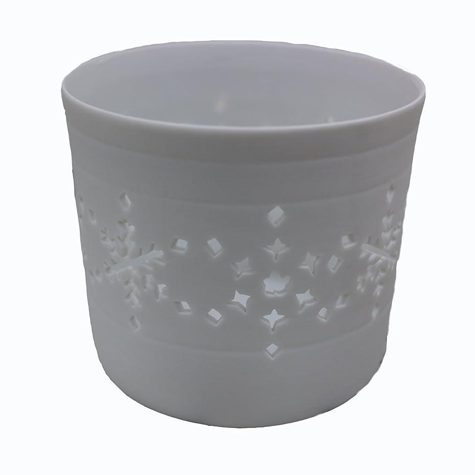 職業北米混乱させるキャンドルカップ(ティーライト付き)結晶