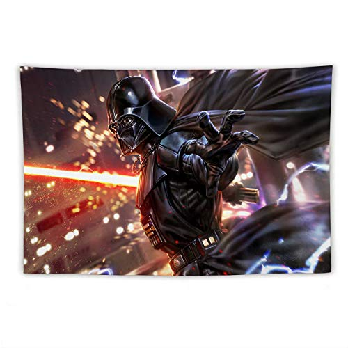 Star Wars Wall Tapestry for Bedroom Sith Lords Darth Vader Tapestries Cool Home Decor, Tapestrys Decoration for Birthday,Party,Living Room,Bedroom,Kids Room 40x60 Inch