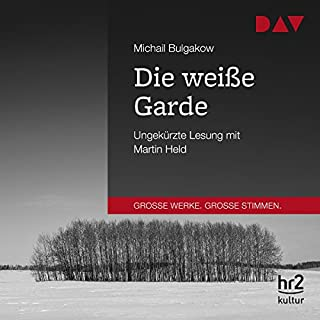 Die weiße Garde                   By:                                                                                                                                 Michail Bulgakow                               Narrated by:                                                                                                                                 Martin Held                      Length: 11 hrs and 41 mins     Not rated yet     Overall 0.0