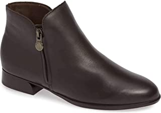 Munro Womens Averee Leather Almond Toe Ankle Fashion Boots