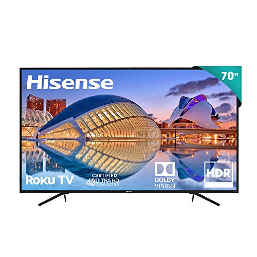 TV Hisense 70' 4K UHD Roku Tv LED R6000FM