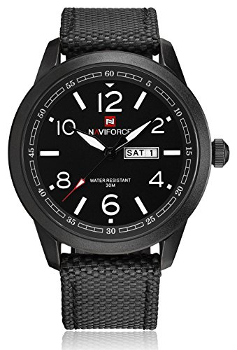 Naviforce Herrenuhr Military Sports Waterproof Kleid Analog Quarz Armbanduhren