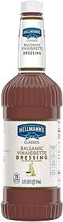Hellmann's Classics Balsamic Vinaigrette Salad Dressing Salad Bar Bottles Gluten Free, No Artificial Flavors or High Fruct...