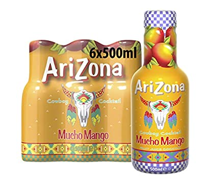 Arizona Cowboy Cocktail Mucho Mango, 6er Pack (6 x 500 ml)