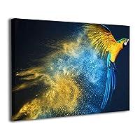 Skydoor J パネル ポスターフレーム オウム インテリア アートフレーム 額 モダン 壁掛けポスタ アート 壁アート 壁掛け絵画 装飾画 かべ飾り 30×20