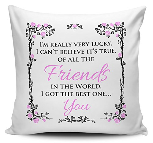 Of All The Friends In The World I Got The Best One... You Cushion Cover