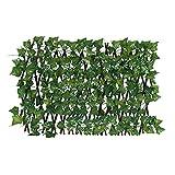 GOODTRADE8 6 feet Privacy Screen Fence Heavy Duty Fencing Mesh Shade Net Cover for Wall Garden Yard Backyard (Little Creeper Leaf)