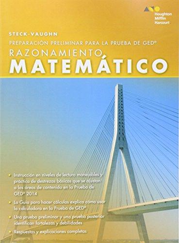 Steck Vaughn Pre Ged Spanish Mathematical Reasoning Spanish Edition