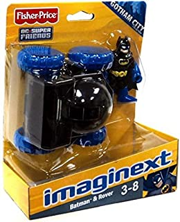 Fisher-Price Imaginext DC Super Friends Gotham City Collection Batman and Moon Rover Action Figure Set