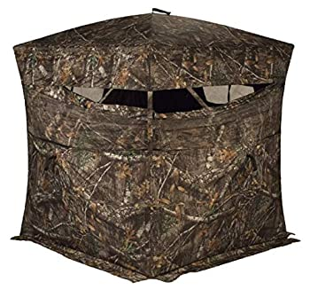 RHINO Blinds R150-RTE 3 Person Hunting Ground Blind Realtree Edge