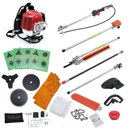 DatingDay 6 in 1 52cc Petrol Hedge Trimmer Grass...