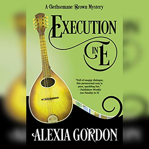 Execution in E audiobook cover art