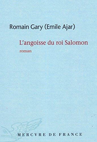 L'angoisse du roi Salomon (Littérature Générale) (French Edition)