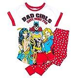 Conjunto de Pijama para Damas superhéroes de DC Comics para Mujeres: pequeño (8-10)